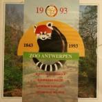 FDC Set 1993 – Zoo Antwerpen