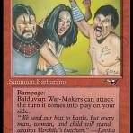 Balduvian War-Makers (B) – Alliances
