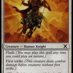 Benalish Knight – 10th Edition