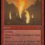 Flame Jet – Urza's Destiny