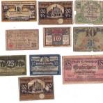 Noodgeld Duitsland (Notgeld) – 10 st.  (Set 02)