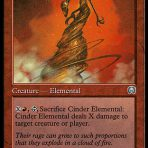 Cinder Elemental – Mercadian Masques