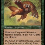 Deepwood Wolverine – Mercadian Masques