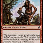 Axegrinder Giant – Lorwyn