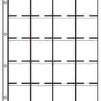 PVC DIN 20 (5 x 4) vakken, glad