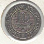 10 Centimes 1961 – CuNi – Braemt