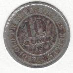 10 Centimes 1962 – CuNi – Braemt