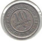 10 Centimes 1962 – CuNi – Braemt (Incuussporen)