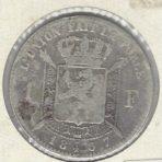 1 Franc 1867 FR – Wiener