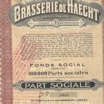 Brasserie de Haecht – Part Sociale