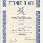 Cotonniere De Moen – Action de capital