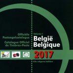 Officiele postzegel catalogus België 2017 inclusief ex-Koloniën