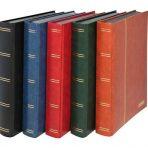 x Lindner Insteekalbum gewatteerd, groot formaat, 60 witte blz (1162S)