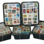 250 gram postzegels Zwitserland onafgeweekt