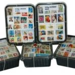 250 gram postzegels USA onafgeweekt