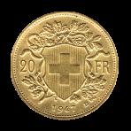 20 Fr Vreneli gouden munt