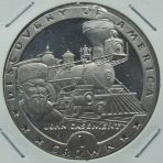 1 Crown – Discovery of America (1992) – Isle of Man