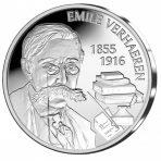 5 Euro 2016 – Emile Verhaeren (Proof – Silver)