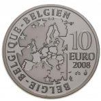 10 Euro 2008 – Olympische spelen van 2008 (Proof – Silver)