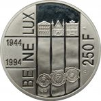 250 Fr – 50 jaar BENELUX – 1994