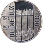 10 Gulden – 50 jaar BENELUX – 1994